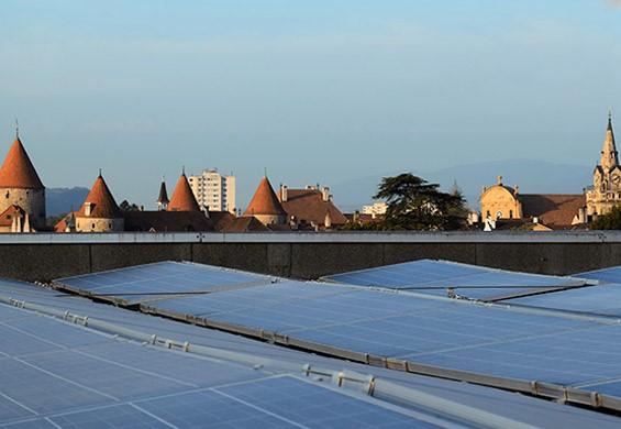 panneaux solaires yverdon