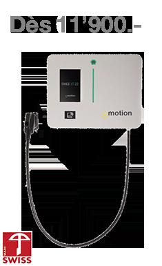 Borne de recharge Range XT - Yverdon Énergie