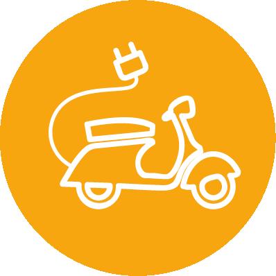 Scooter ou moto électrique