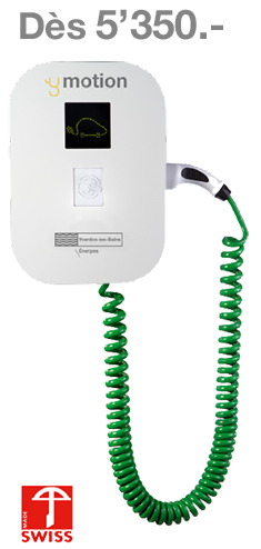 ymotion - Pack multi-résidentiel «Smart One + 3 bornes»